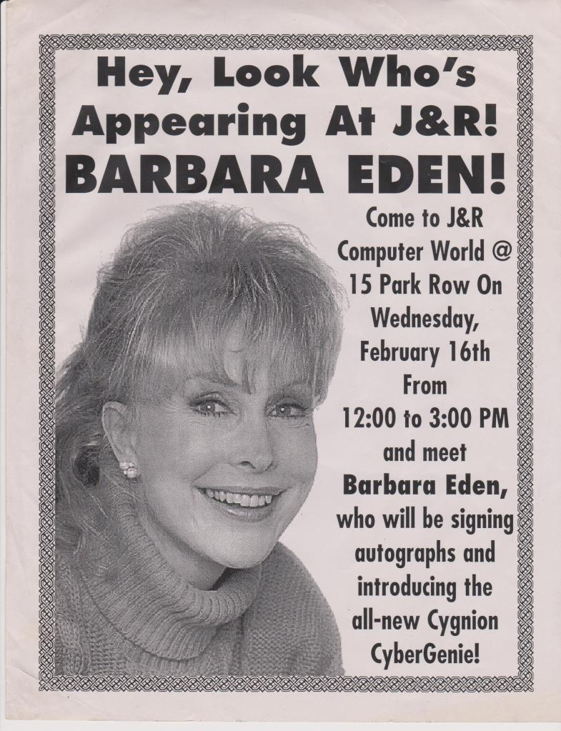 BARBARA EDEN J&R 2000