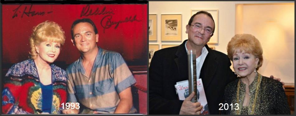 DEBBIE REYNOLDS 1993 - 2013 collage