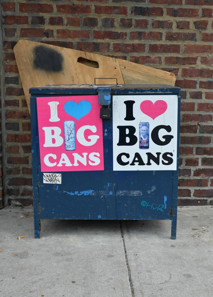 I LOVE BIG CANS