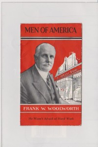 WOOLWORTH BROCHURE