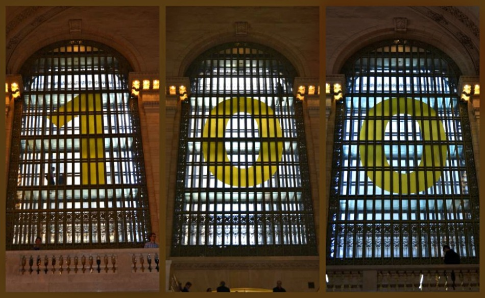 100 YEAR GRAND CENTRAL collage