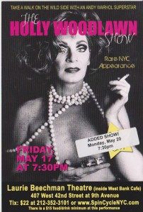 Holly Woodlawn 1 night only