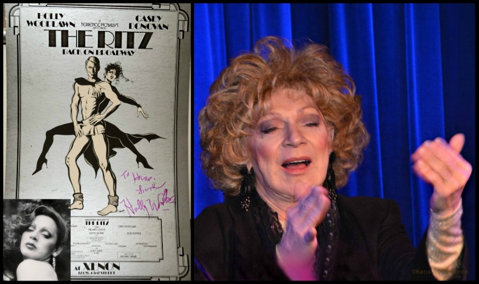 HOLLY WOODLAWN collage