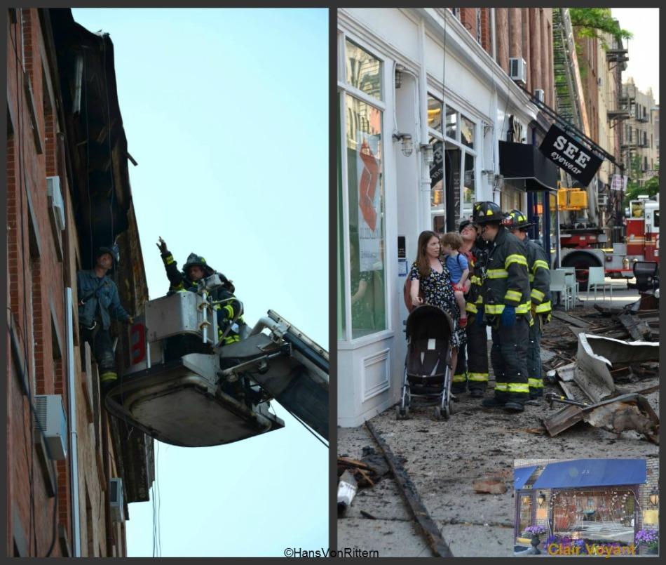 ROOF COLLAPSE collage