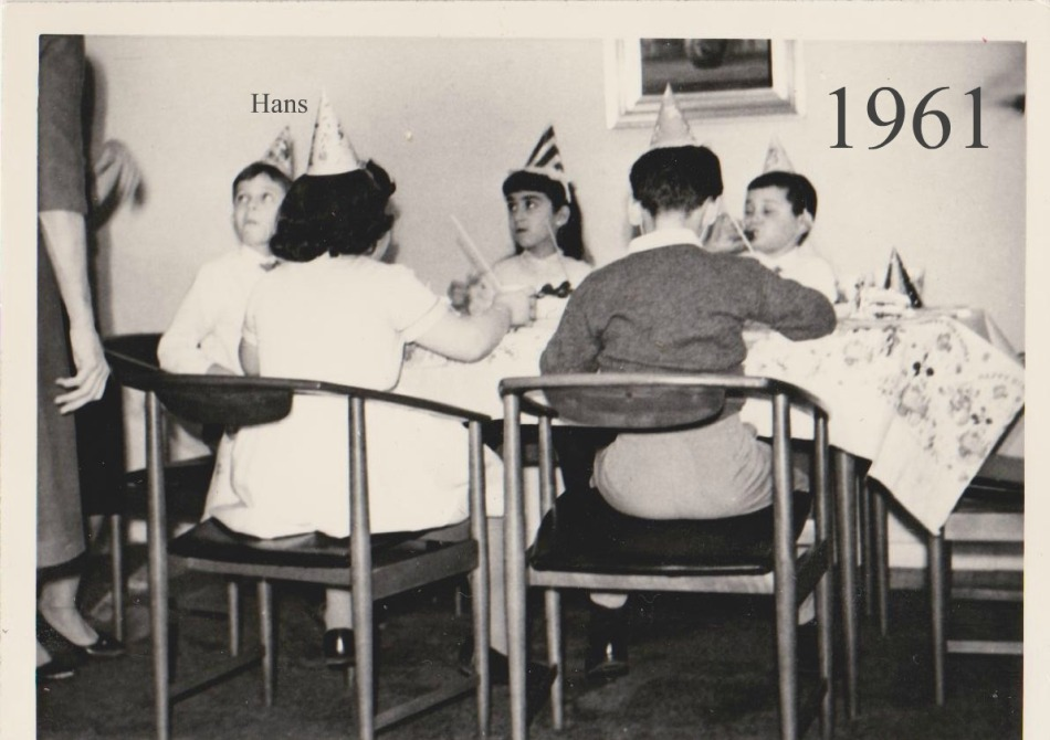 1961, my 6th Birthday party