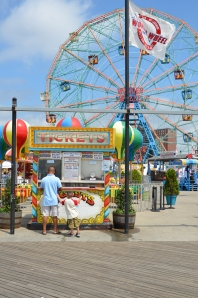 Alone with dad at Coney Island's Wonder Wheel