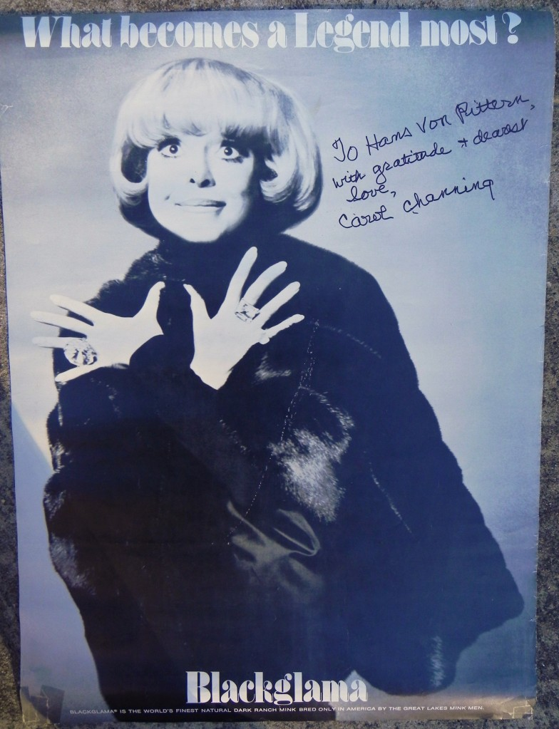 CAROL CHANNING LEGEND