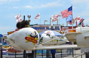 Coney Island rockets