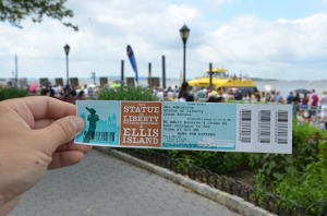 The Fourth of July ticket !
