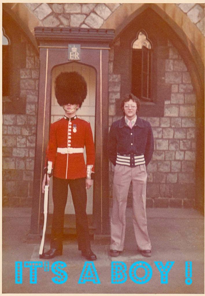 Hans in London 1974
