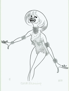 hirschfeld_carol_channing LORELEI LEE