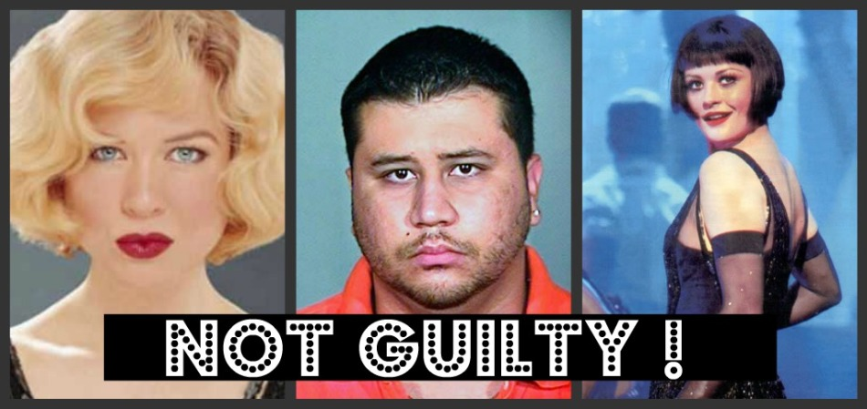 NOT GUILTY collage