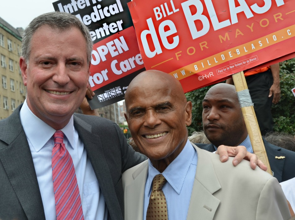 DEBLASIO AND BELAFONTE