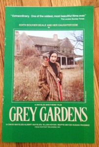 Grey Gardens 1975 film program