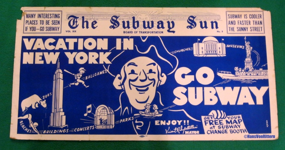 SUBWAY NEW YORK POSTER