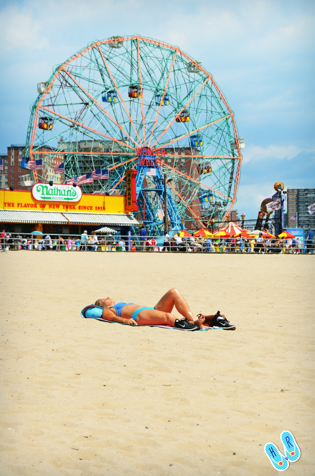 Coney Island Amusement Park New York City In The Wit