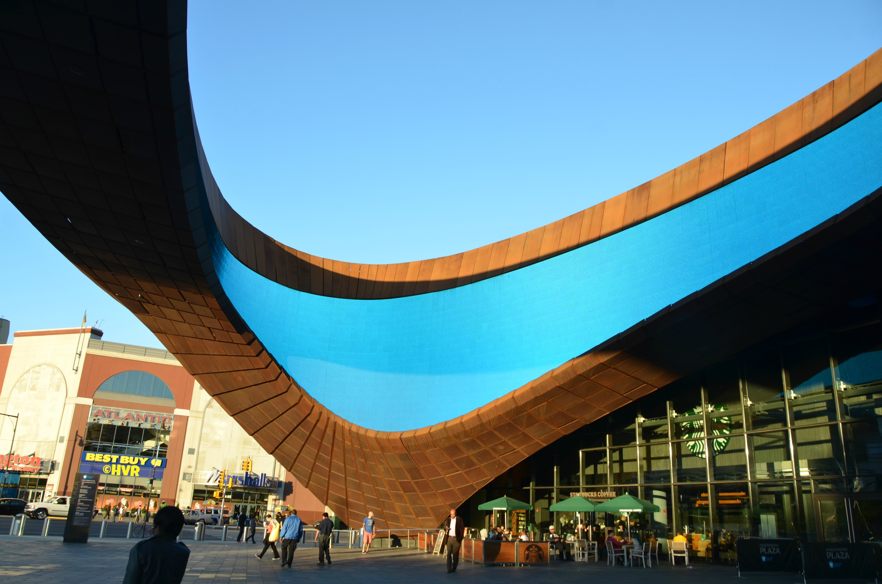 Photo Of The Day A Piece Of The Sky Barclays Center