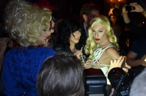 Cher and Club Drag Queens