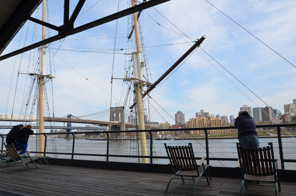 September 9, 2013: The last day of South Street Seaport's Pier 17