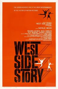"1961 original ""West Side Story"" film poster"