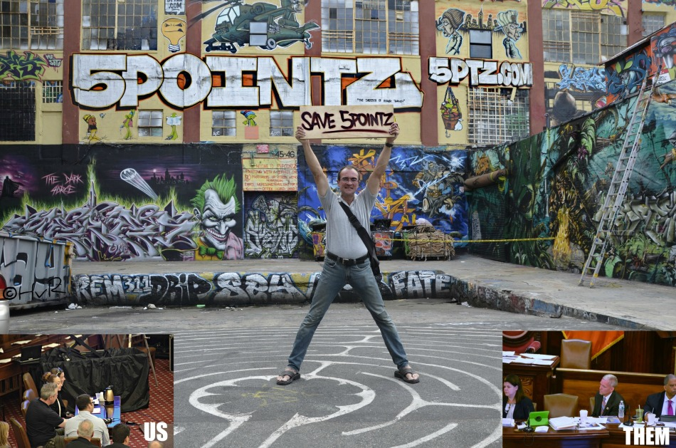 5 POINTZ HEARING COLLAGE
