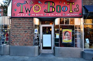 Two Boots Pizza - 210 West 11th Street, Greenwich Village