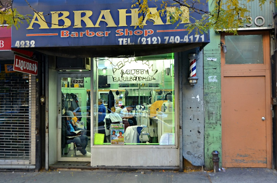 ABRAHAM BARBER SHOP SUNDAY MORNING