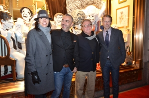 Bendel's president and top executives and creative team