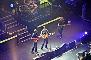 John Fogerty rocks with his son at the Beacon, NYC