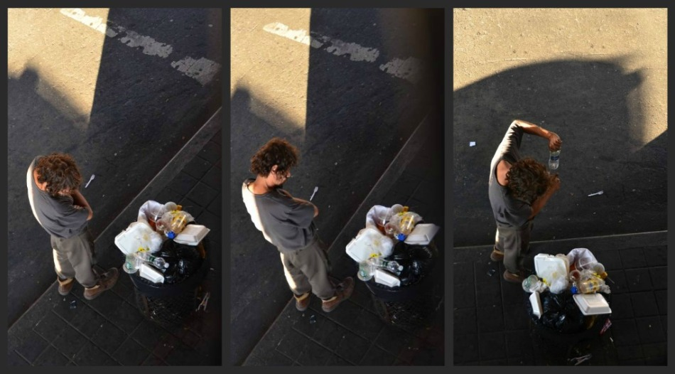 HOMLESS HUNGRY collage
