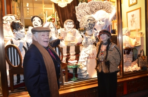 Jerry Stiller meets 'Jerry' with Margo Feiden and Bendel's