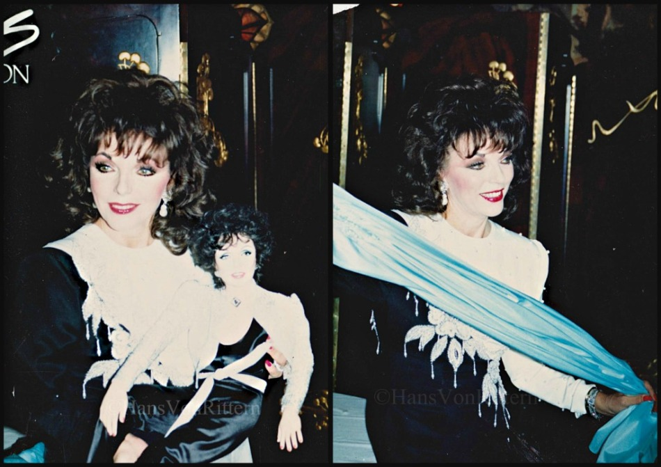 JOAN COLLINS collage