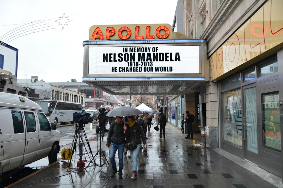 Apollo Theater, 125th Street Harlem. 12-6-2013