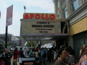 Apollo Theater, June 27, 2009