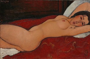 Modigliani's 'Reclining Nude' 1917