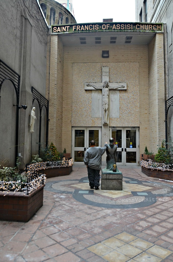 The Church of Saint Francis of Assisi, 135 W. 31st Street,  New York, NY 10001. 212-736-8500