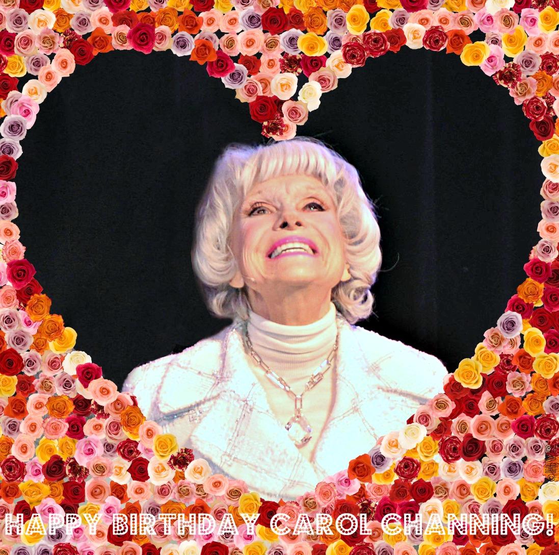 HAPPY 93rd BIRTHDAY CAROL CHANNING ♥ ! | NEW YORK CITY ...