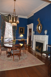 SMALL DINING ROOM at GRACIE MANSION