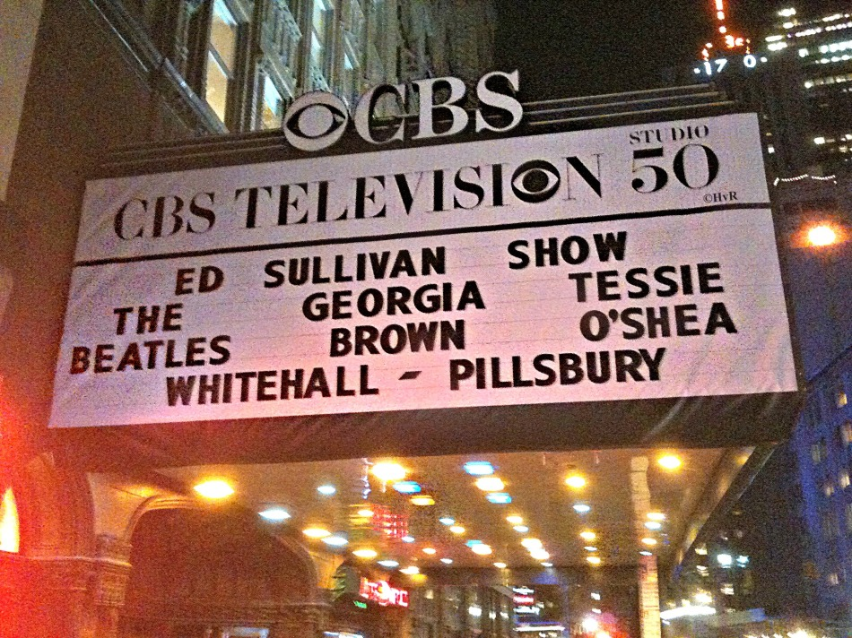 The Ed Sullivan Theater, February 9, 2014