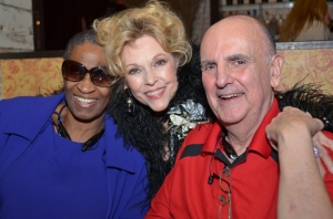 Soap aficionado  Peggy Eason and husband meet their idol