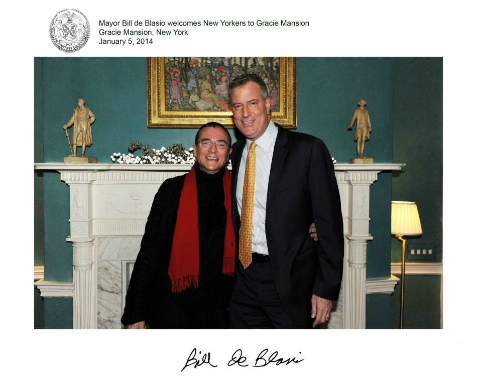 HANS AND BILL DEBLASIO-EDT