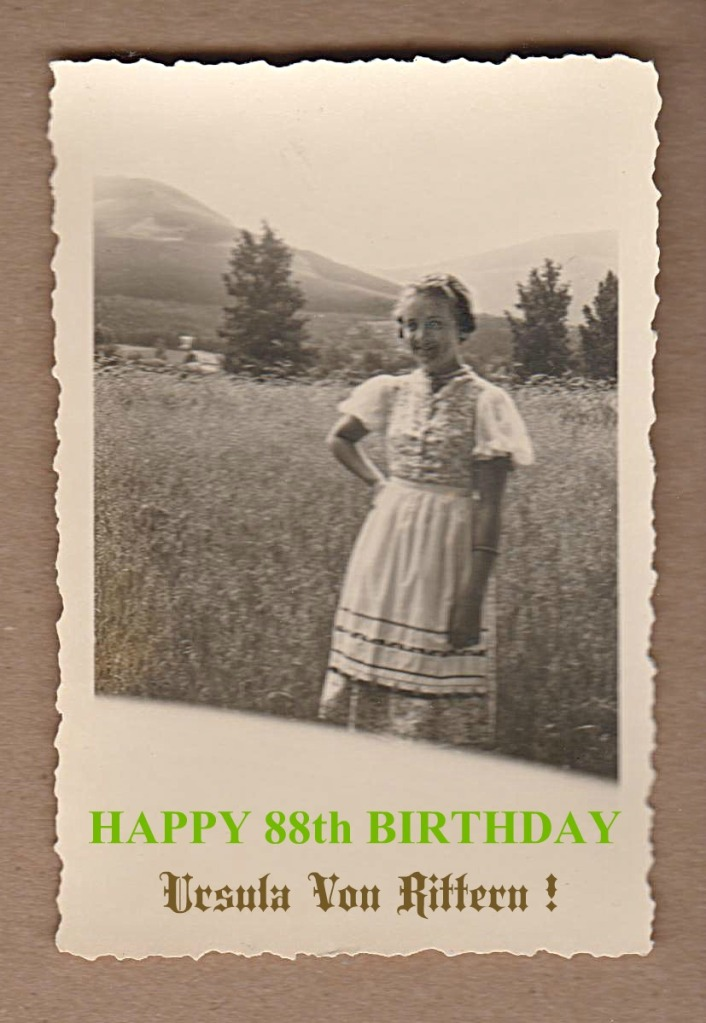 MOM 88th BIRTHDAY SOUND MUSIC