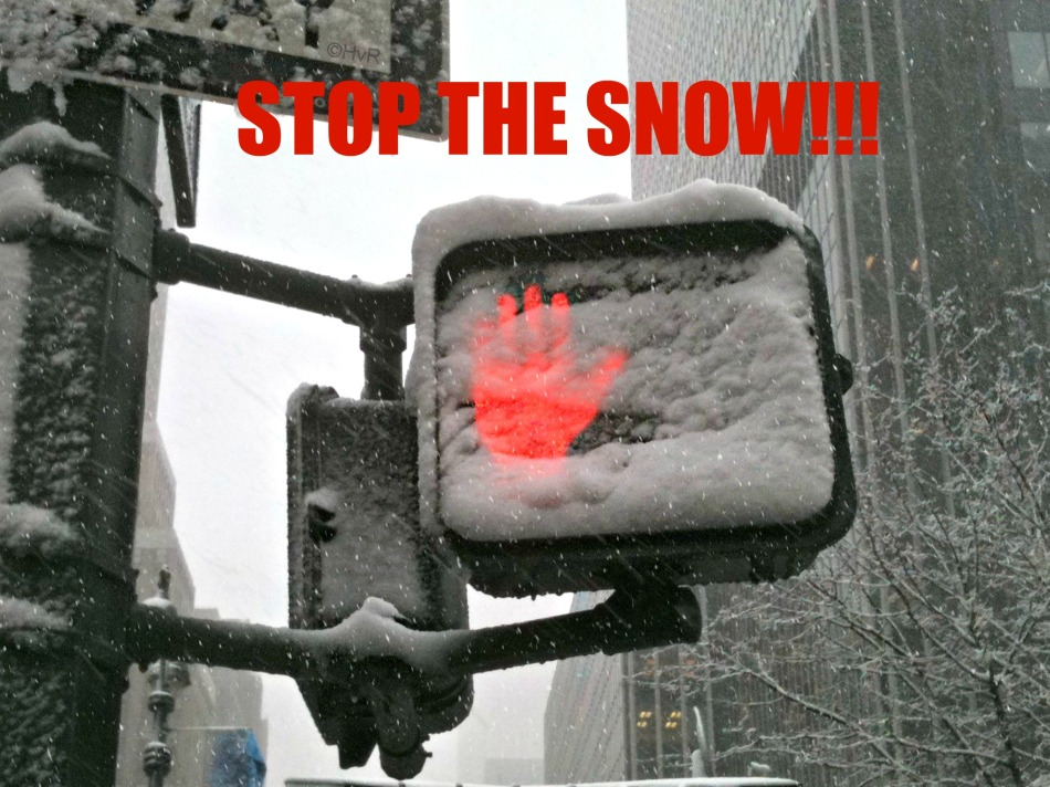 STOP THE SNOW!