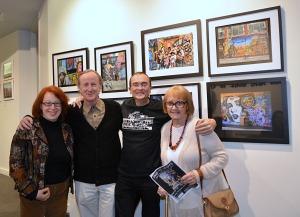 Deborah Blau, Tom Orzo, Hans Von Rittern and Ursula Von Rittern