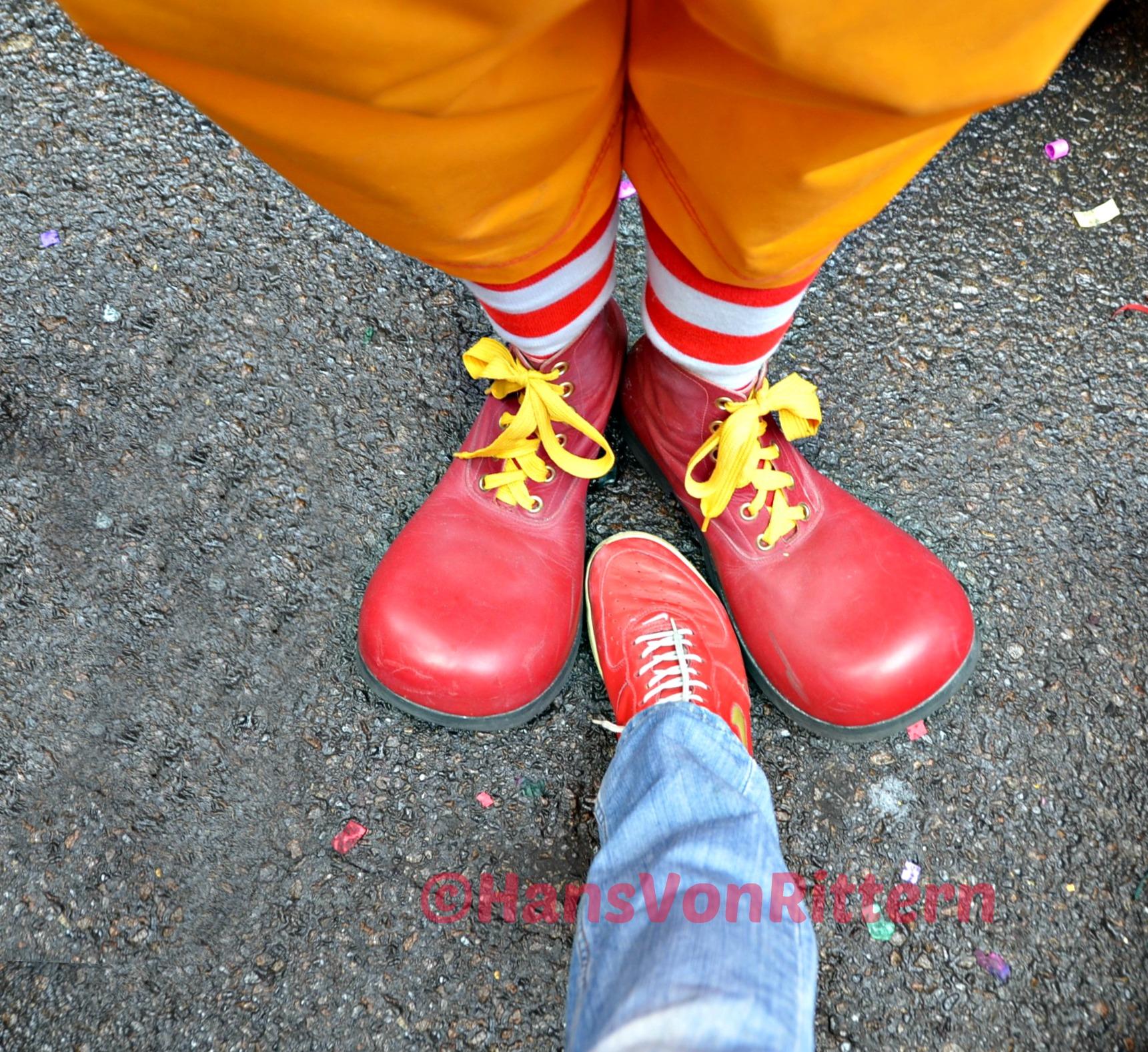 Ronald Mcdonald Shoes Size