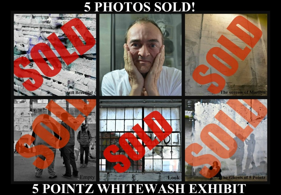 5 PHOTOS SOLD 5 POINTZ EXHIBIT collage