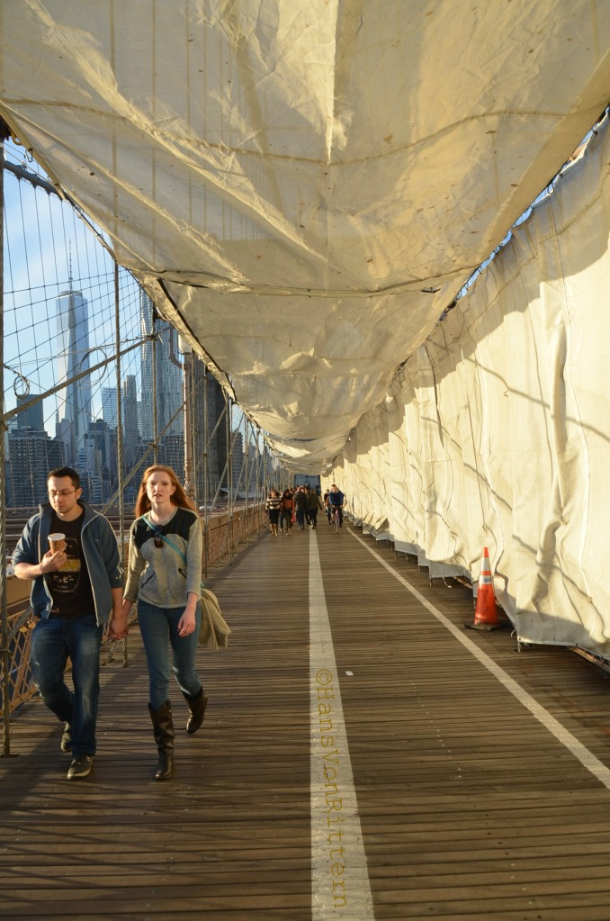 BROOKLYN BRIDGE COVERED