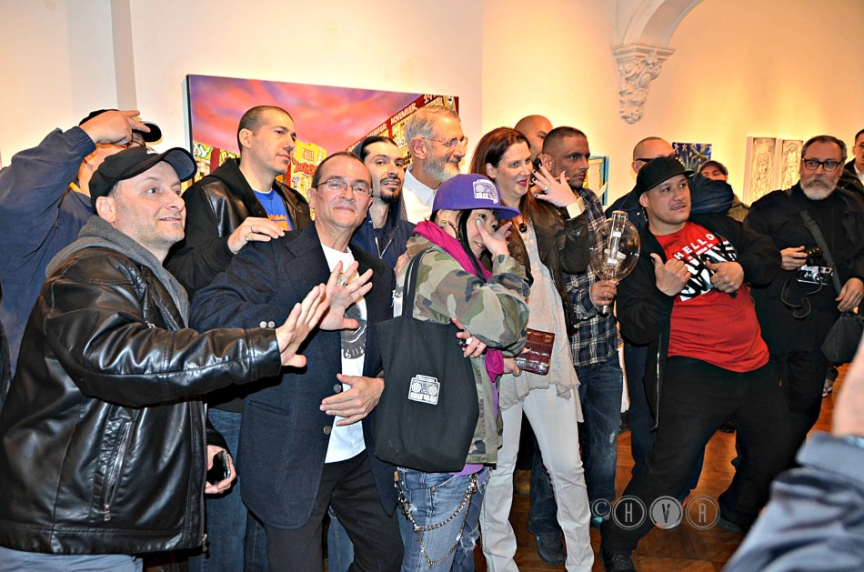 """WHITEWASH"" featured artists group photo: ""FIVE POINTZ!"""