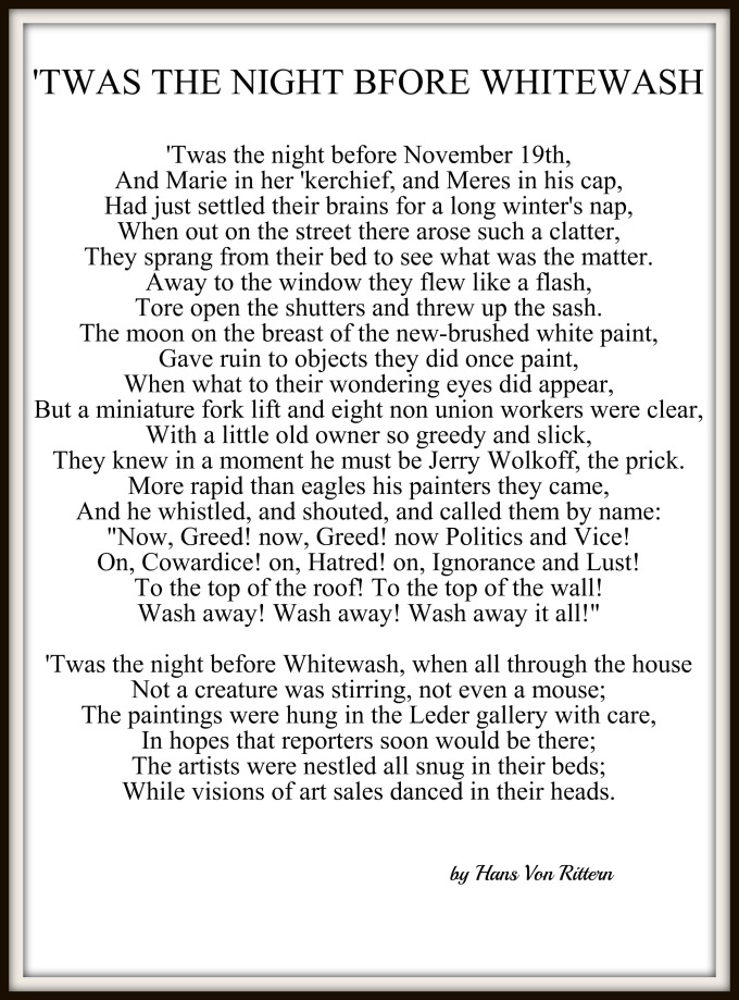 a fractured twas the night before christmas new york city in - Twas The Night Before Christmas Poem Funny