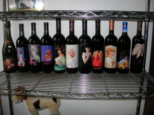 MARILYN MONROE MERLOT WINE Mint750ml - Full Bottles, 1991-2002